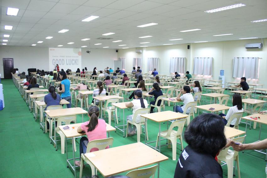 菲律賓宿霧 SMEAG 語言學校考試教室